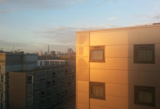 Travelodge London Bethnal Green: View from my room, top floor.
