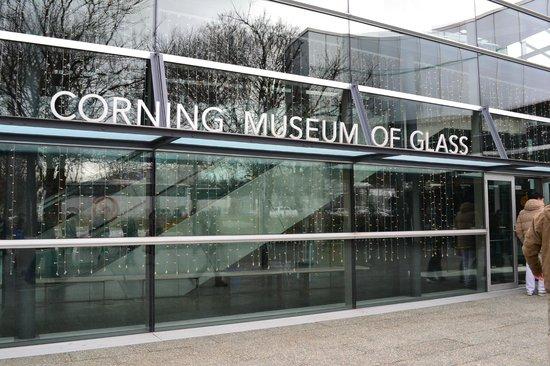 Corning Museum of Glass: Entrada