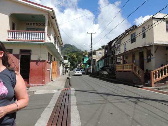 Sugar Beach, A Viceroy Resort : Downtown Soufriere