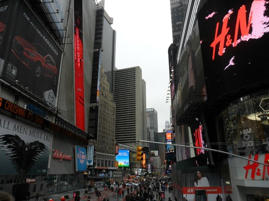 Crowne Plaza Times Square Manhattan : Fab location