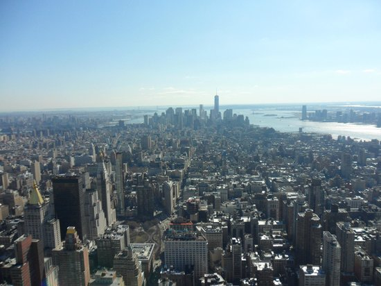 View From Empire State Building Picture Of Crowne Plaza