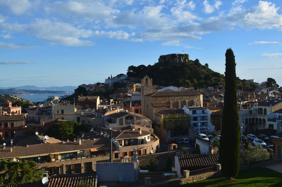 View of Begur from near Hotel Rosa