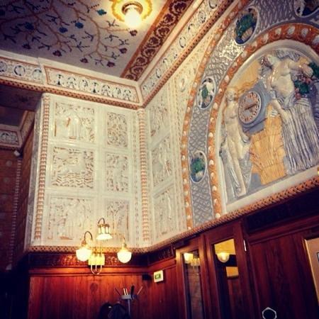 Art Deco Hotel Imperial : café impérial