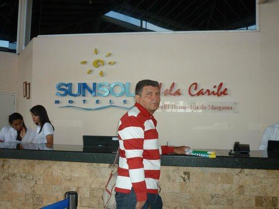 SUNSOL Isla Caribe : ENTRADA HOTAL