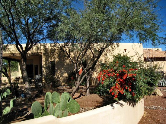 Tubac Center of the Arts: Low water - low maintenance