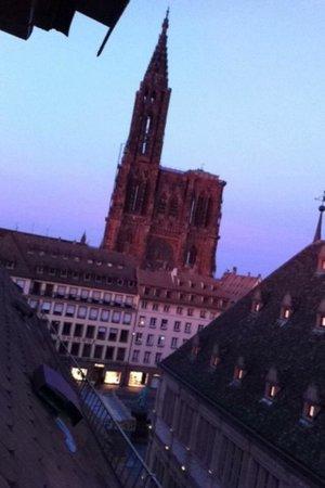 Hotel Gutenberg : Vu sur la Cathédrale