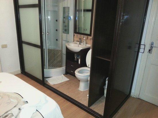 Hostal Salamanca : El habitáculo llamado baño