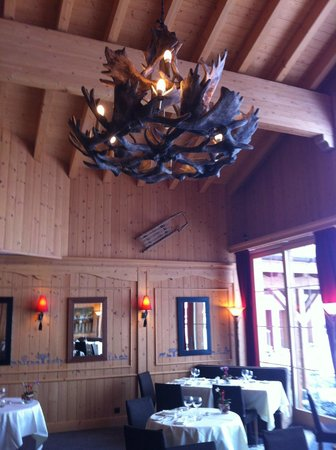 Chalet RoyAlp Hotel & Spa : salle à manger