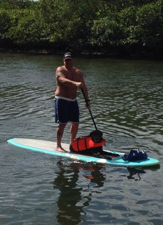 Blueline Surf & Paddle Co.: Paddlin' w/Dudz