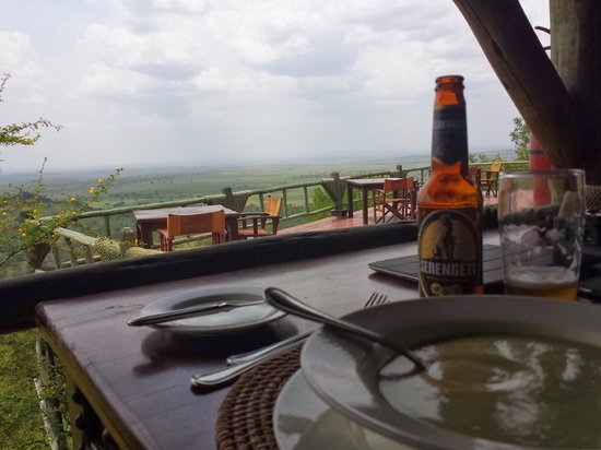 Soroi Serengeti Lodge: Dinner