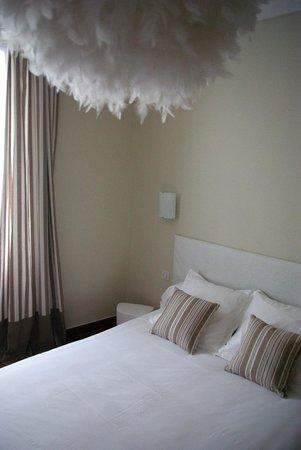 Hotel d'Arvor: Chambre n°12 (douche, sans WC)