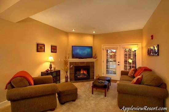 Appleview River Resort: Living Area