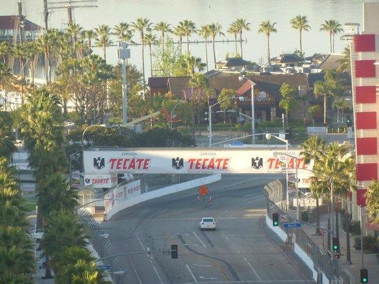 Renaissance Long Beach Hotel : Long Beach getting ready for the grand prix