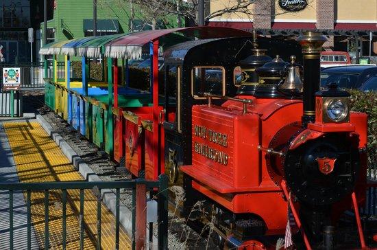 Nut Tree Family Park: Beautiful train