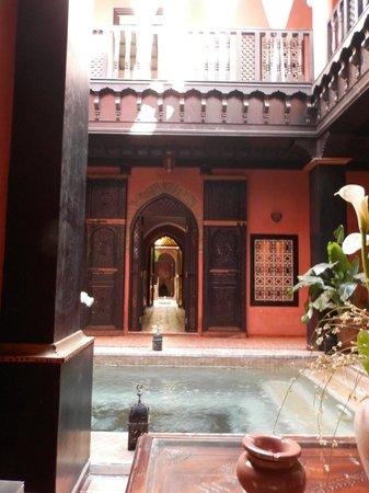 Riad Samsli : Courtyard