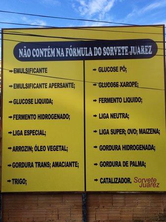 Sorveteria Juarez : Comprova o q faz!!