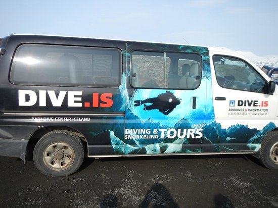 DIVE.IS: Our Ride