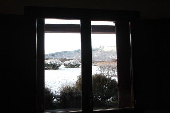 Hotel Izan Puerta de Gredos: Un poco de nieve