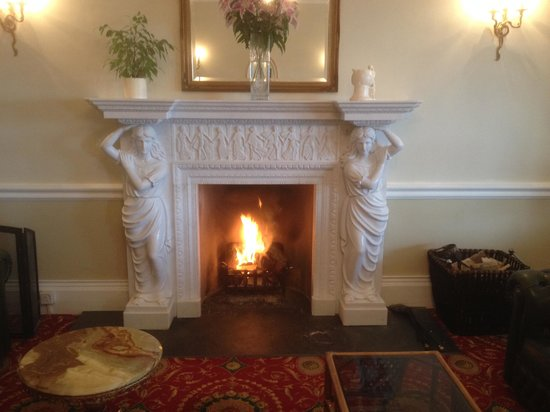 Park Hotel: Our New Fire Place