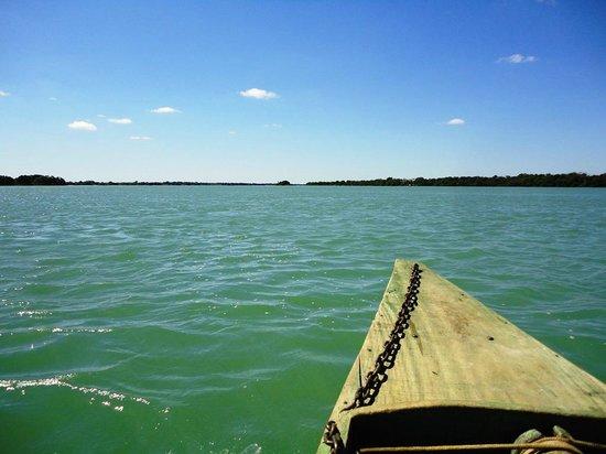 Balneario de Pedrinhas: Passeio de barco no Velho Chico