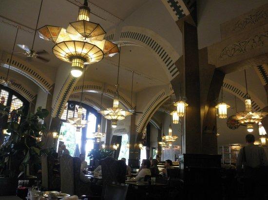 Hampshire Hotel - Amsterdam American: 美しいアール・ヌーヴォーのカフェ・アメリカン