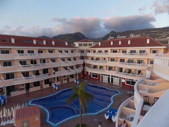 Bahia Flamingo : Вид из номера на отель