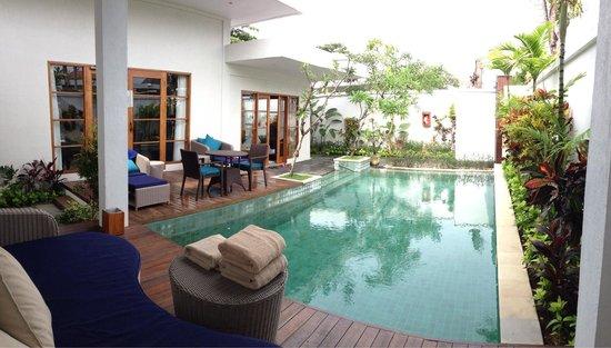 The Samaya Bali Seminyak : Villa during Rain Season....