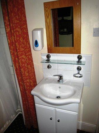 The Charles Stewart Dublin: Lavabo dentro de la Habitación
