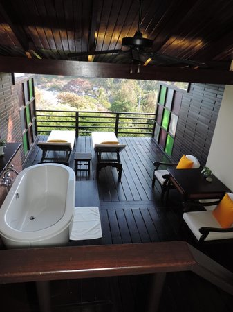 The Tongsai Bay: Cottage Suite 307 - terrace