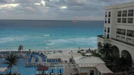 Marriott Cancun Resort: view from the balcony
