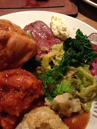 The Cowshed : Tasty Meat and Veg