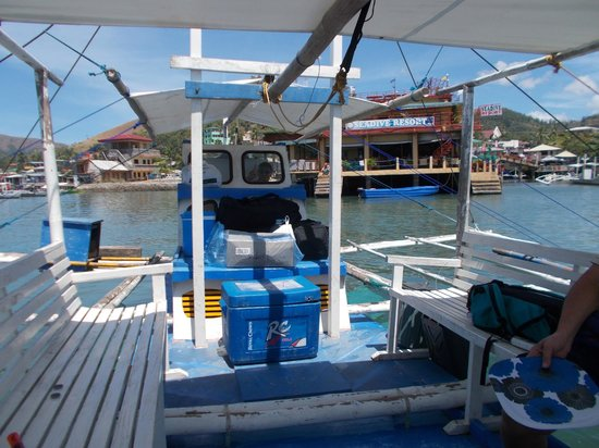 Busuanga Seadive Resort : Sea Dive in the rear view mirror