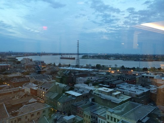 Hotel Monteleone : View from roof top event room