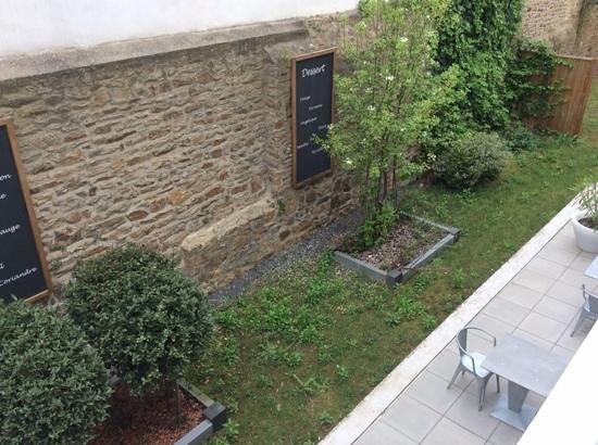 Best Western Plus Vannes Centre Ville : vue du balcon