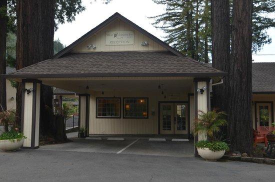 West Sonoma Inn & Spa: The Office entrance