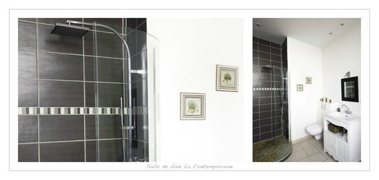 La Petite Saunerie : salle de bain contemporaine