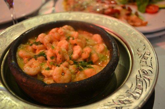 Babylonia Garden Terrace : Garlic Shrimp