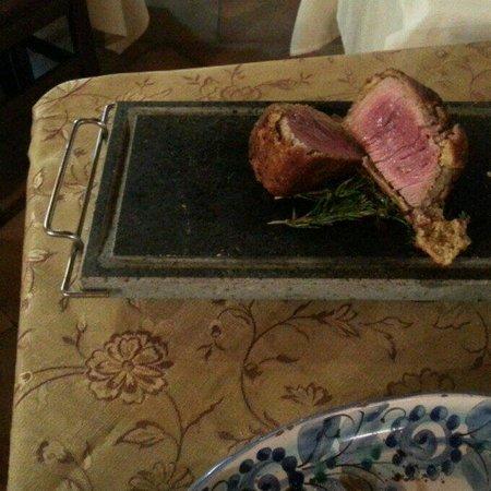 Galati Mamertino, Italie : Filetto crosta....