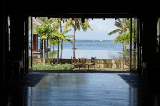 Heritage Awali Golf & Spa Resort : vu de la réception