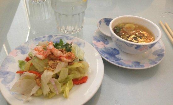 Rancho Cordova, Californie : Soup and Salad