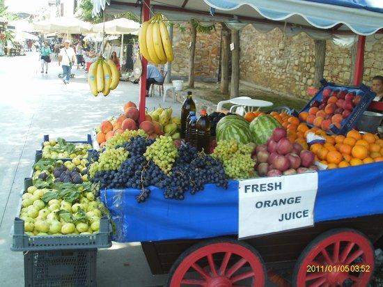Atlantique Holiday Club : fruits