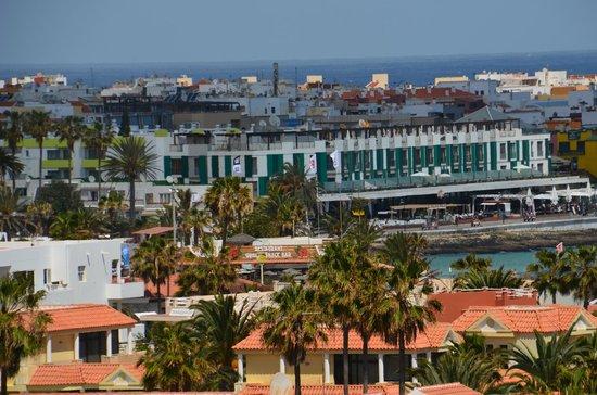 Hotel THe Corralejo Beach : Utsikt från klocktornet mot hotellkvarteret