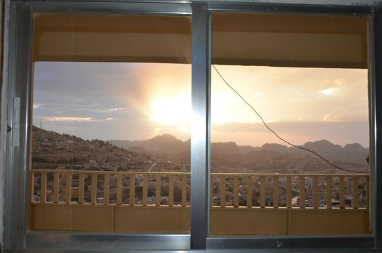 Rocky Mountain Hotel: View from the room