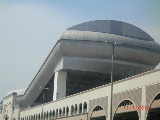 Citymax Al Barsha: Skipiste Mall of Emirats vom Hotel gesehen