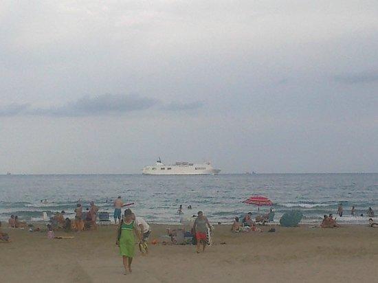 Gran Hotel La Hacienda : playa