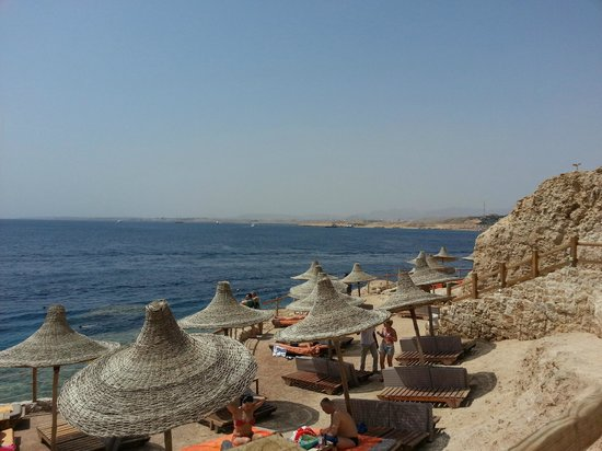 Sharm Plaza Hotel : Beach Area