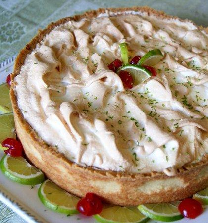 Zefinha Bistrô : Torta de limão
