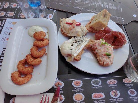 Tapa Tapa : seafood tapa and assortment tapas
