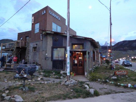 La Guanaca: Vista desde la esquina