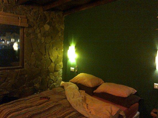 La Guanaca: Una de las habitaciones que nos tocó, esta es la mas pequeña.